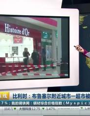 布鲁塞尔附近城市一超市被数名持枪男子抢劫